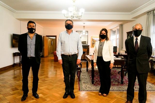 Autoridades de la C.I.P. se reunieron con autoridades del Ministerio de Defensa Nacional