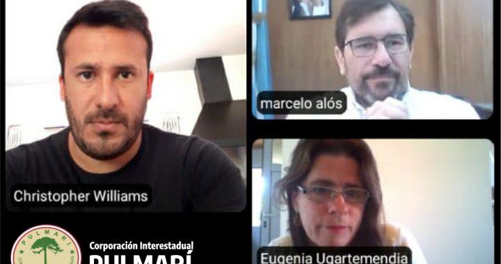 reunieron virtualmente con el Lic. Marcelo Alós