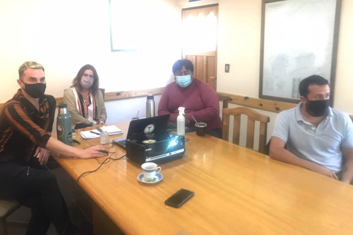 Reunion de trabajo por proyecto de identificación, recuperación y conservación del Patrimonio Cultural del Departamento Aluminé