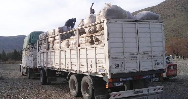 logística de los rollos de lana vendidos en la Feria del Vellón