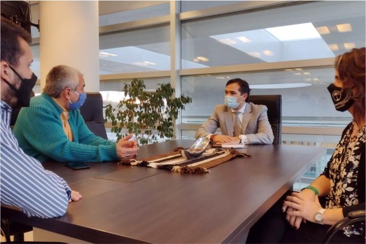 Reunión de trabajo con el Fiscal del Tribunal Superior de Justicia de la Provincia, José Gerez.