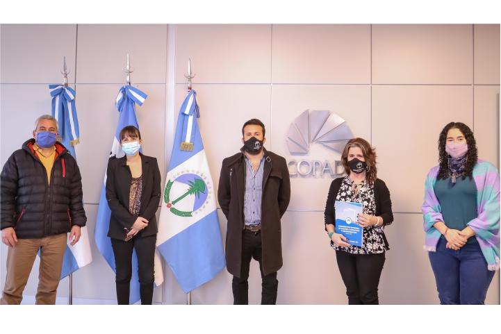 Autoridades de la CIP se reunieron con referentes del COPADE
