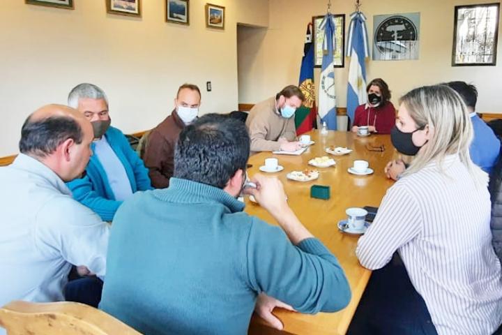Autoridades de la CIP mantuvieron encuentro de trabajo con el Ministro de Producción e Industria de la Provincia y su equipo