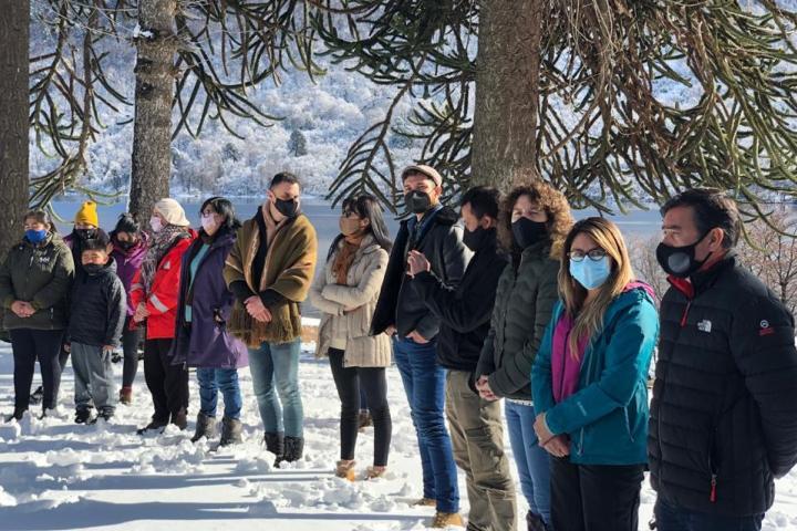 Salón de la Memoria y la apertura de la temporada turística de invierno en Ruca Choroy