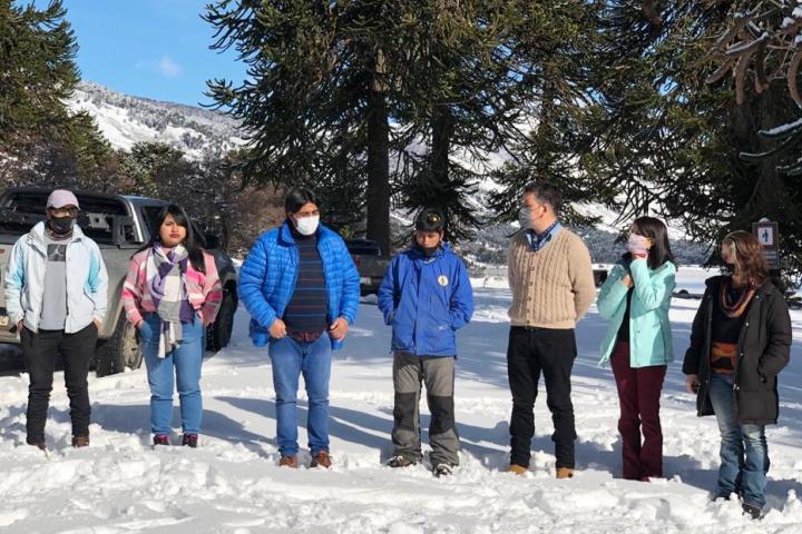Autoridades de la CIP acompañaron la Inauguración del Salón de la Memoria y la apertura de la temporada turística de invierno en Ruca Choroy.