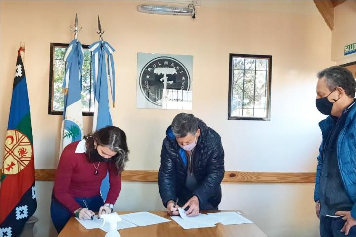 Nueva concesión en La Angostura para Complejo de Cabañas turísticas