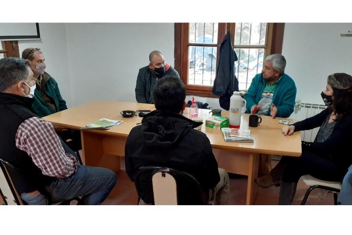 Autoridades de la CIP visitaron la Fundación INVAP de Bariloche