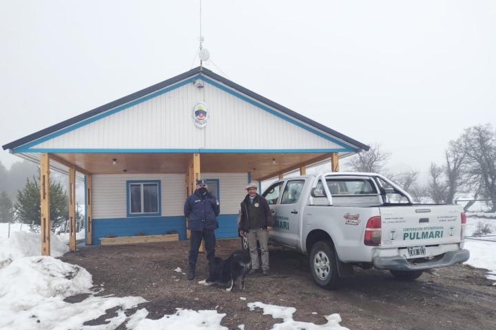 La CIP colabora con la Policía Rural de Lonco Mula