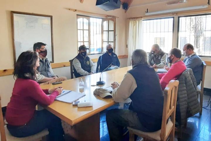 Director Nacional de Manejo del Fuego visitó la CIP